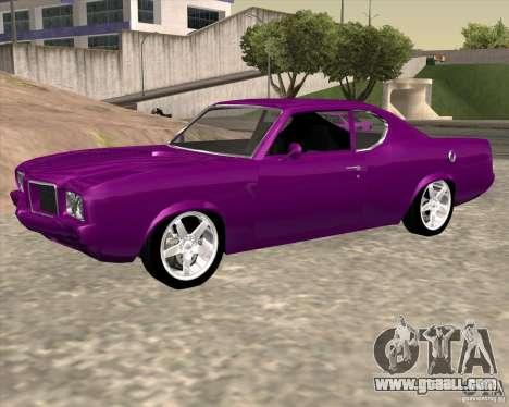 Oldsmobile 442 (Flatout 2) for GTA San Andreas