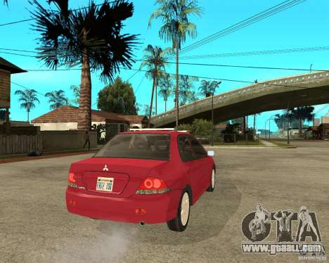 Mitsubishi Lancer 2005 for GTA San Andreas