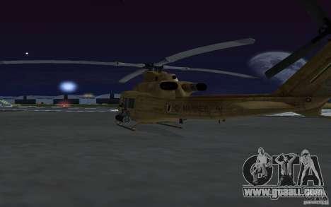 UH-1Y Venom for GTA San Andreas inner view
