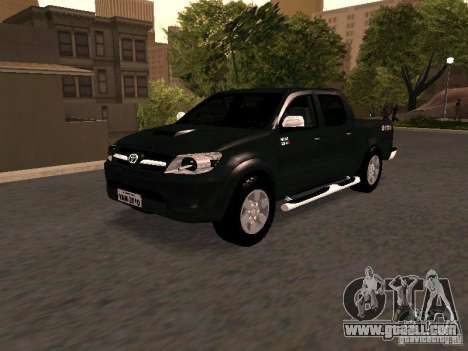 Toyota Hilux SRV 3.0 4X4 Automatica for GTA San Andreas