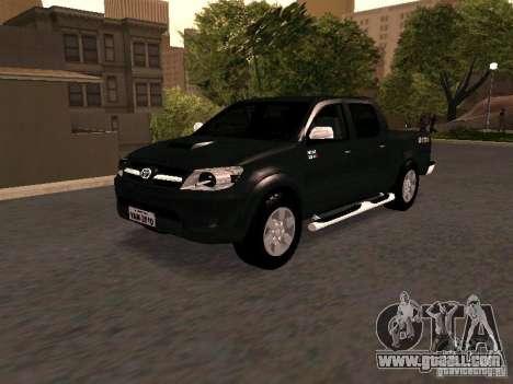 Toyota Hilux SRV 3.0 4X4 Automatica for GTA San Andreas