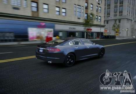 Jaguar XFR 2010 V.2.0 for GTA 4 side view