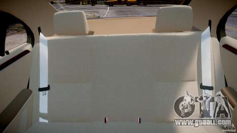 Mercedes-Benz S-Class 2007 for GTA 4 interior
