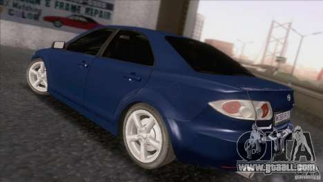 Mazda 6 2006 for GTA San Andreas back left view