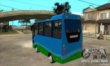 Iveco Eurocity for GTA San Andreas back left view
