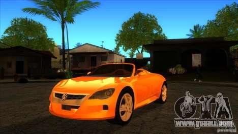 Volkswagen Concept R for GTA San Andreas