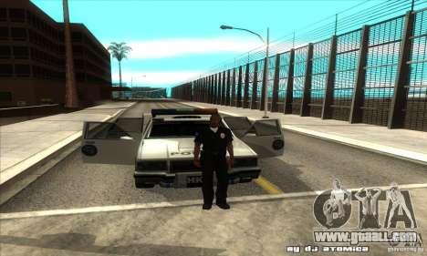 Police Hero v2.1 for GTA San Andreas inner view