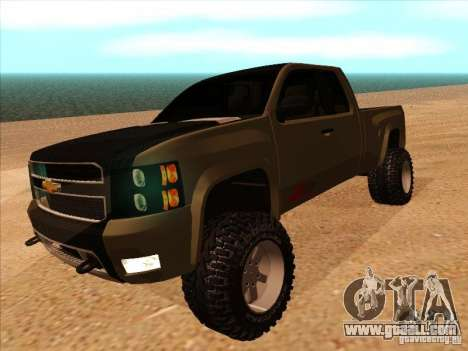 Chevrolet Silverado ZR2 for GTA San Andreas