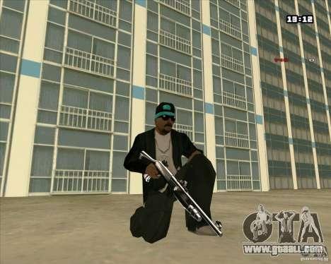 Chrome Weapon Pack for GTA San Andreas third screenshot
