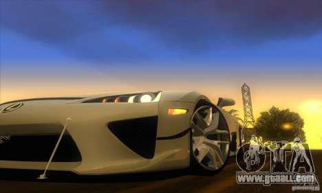 ENB Graphics by KINOman for GTA San Andreas