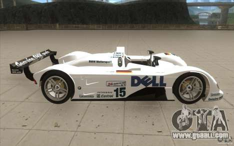 BMW V12 LeMans - Stock for GTA San Andreas inner view