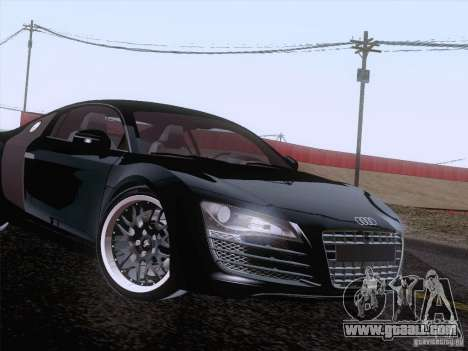 Audi R8 Hamann for GTA San Andreas engine