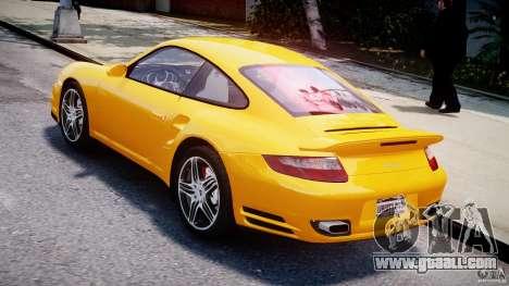 Porsche 911 Turbo V3.5 for GTA 4 back left view
