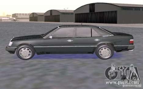 Mercedes-Benz 300E for GTA San Andreas