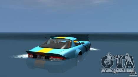 Banshee Boat for GTA 4 back left view