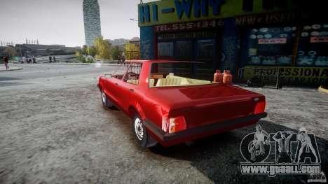 Ford Taunus for GTA 4 back left view