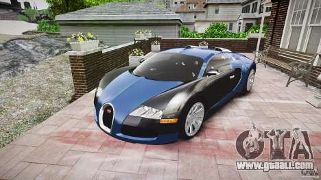 Bugatti Veyron 16.4 v3.0 2005 [EPM] Strasbourg for GTA 4 back view