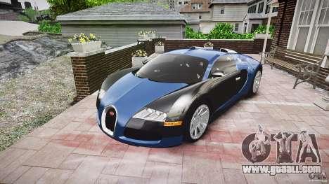Bugatti Veyron 16.4 v3.0 2005 [EPM] Strasbourg for GTA 4 back view