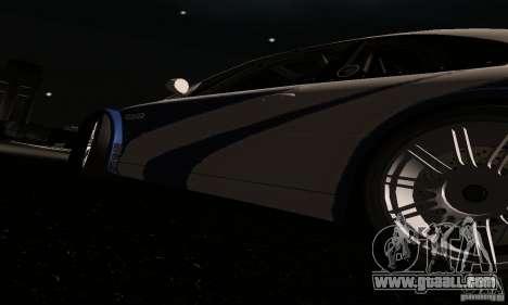 BMW M3 GTR for GTA San Andreas interior