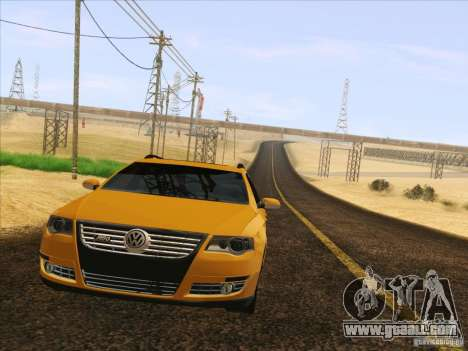 Volkswagen Passat B6 Variant for GTA San Andreas upper view