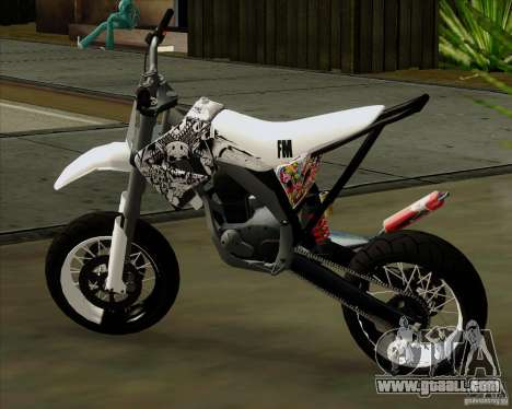 Honda 50 Tuned Stunt for GTA San Andreas left view