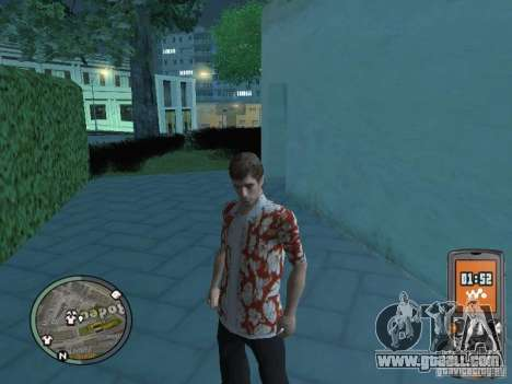 Tony Montana for GTA San Andreas sixth screenshot