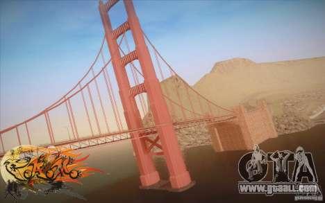 New Golden Gate bridge SF v1.0 for GTA San Andreas second screenshot