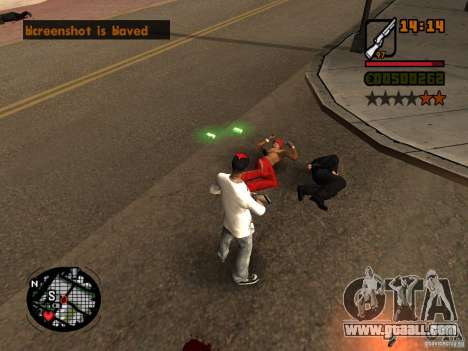 GTA IV Animation in San Andreas for GTA San Andreas third screenshot