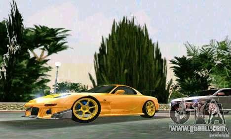 Mazda RX7 RE-Amemiya for GTA Vice City left view