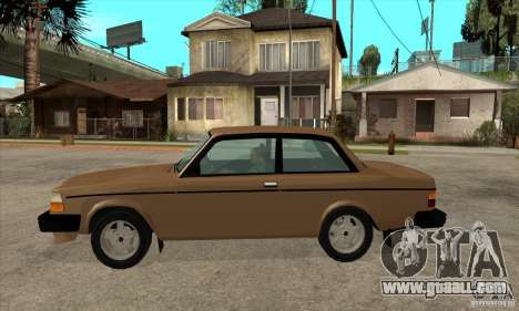 Volvo 240 Turbo for GTA San Andreas left view