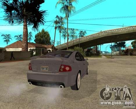 2005 Pontiac GTO for GTA San Andreas back left view