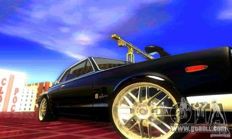 Nissan Skyline 2000-GTR for GTA San Andreas back left view