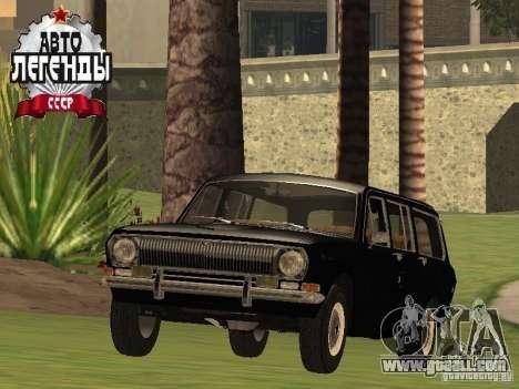 GAZ 24-02 Stoke for GTA San Andreas