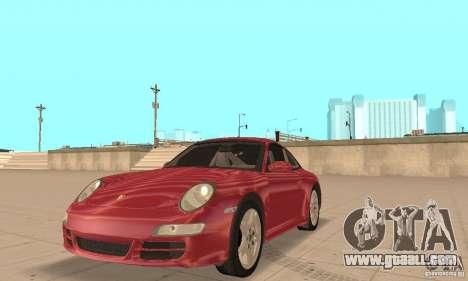 Porsche 911 (997) Carrera S v1.1 for GTA San Andreas