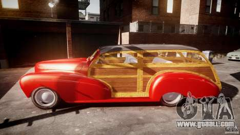 Chevy Fleetmaster Woody Kustom 1948 for GTA 4 inner view