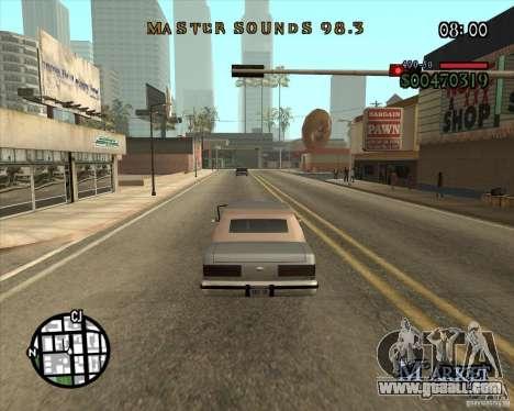 New Fonts for GTA San Andreas third screenshot