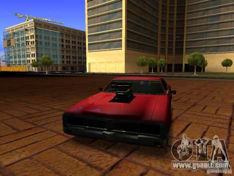 Charger Sabre for GTA San Andreas right view