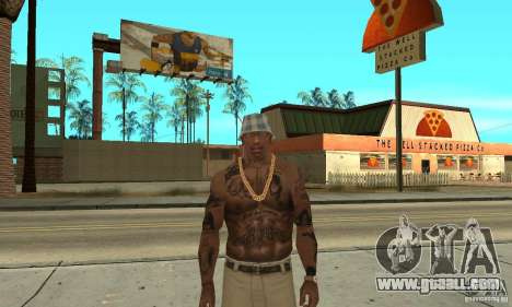 Tattoo mod for GTA San Andreas