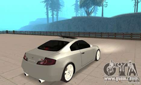 Nissan Skyline 350GT 2003 for GTA San Andreas left view