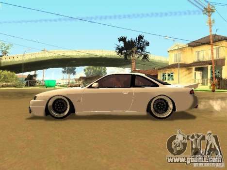 Nissan 200SX JDM for GTA San Andreas inner view