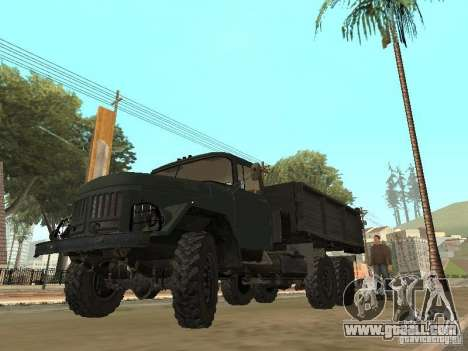 ZIL 131 Truck for GTA San Andreas