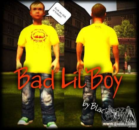 Little pupil for GTA San Andreas