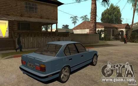 BMW E34 535i 1994 for GTA San Andreas right view