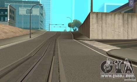 New Streets v2 for GTA San Andreas second screenshot