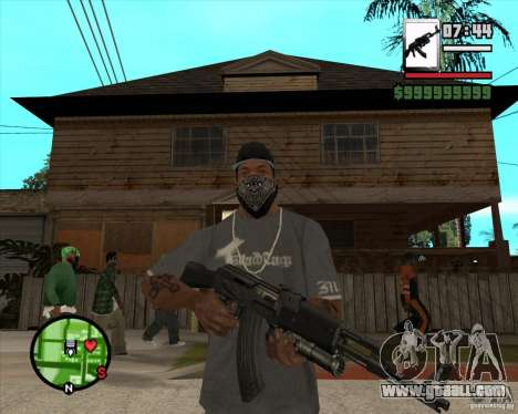 AK47 with GP-30 for GTA San Andreas