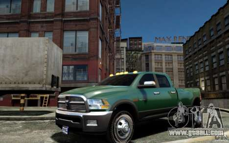 Dodge Ram 3500 Stock Final for GTA 4 left view