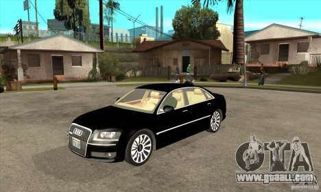 Audi A8 from Carrier 3 for GTA San Andreas