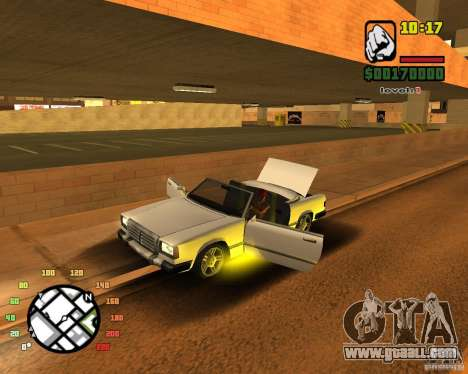 Extreme Car Mod SA:MP version for GTA San Andreas second screenshot