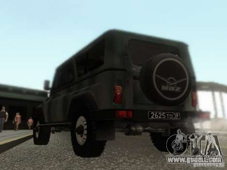 UAZ-3153 for GTA San Andreas back left view