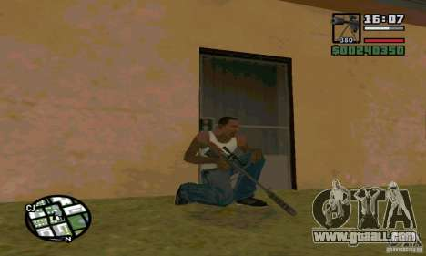 The KSVK (IOS-98) for GTA San Andreas forth screenshot